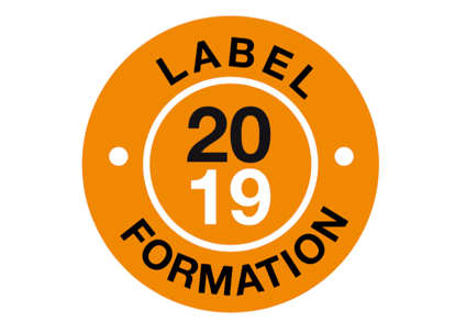Logo CPNEFP label formation 2018 branche architecture formations de qualité