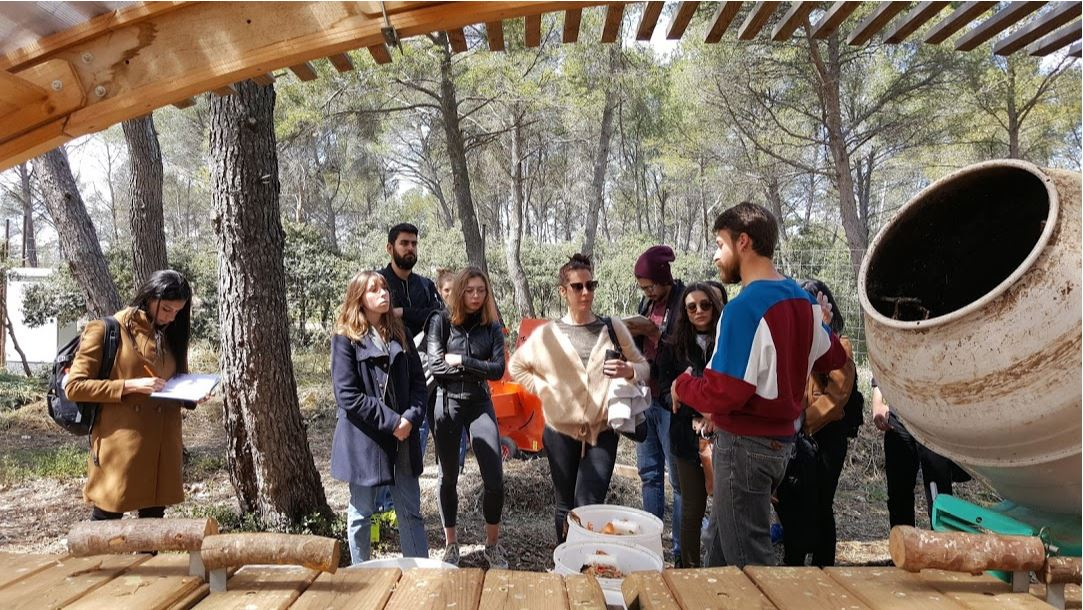 "Visite de site ""The Camp"" Aix en Provence Avril 2019"