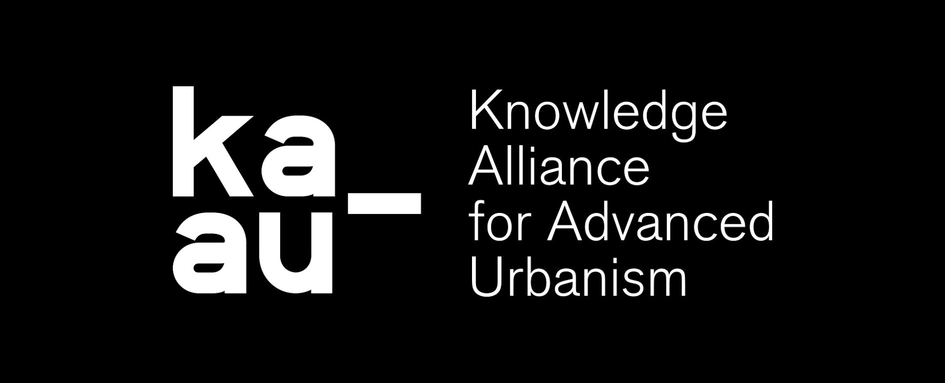 Logo Knowledge alliance for advanced urbanism